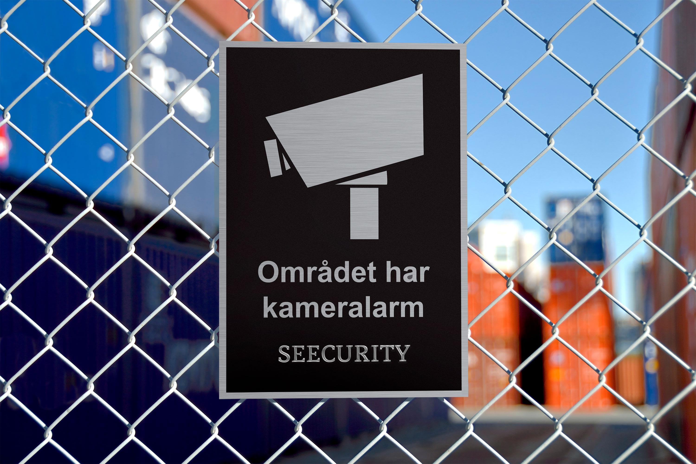Kameraövervakning för föreag